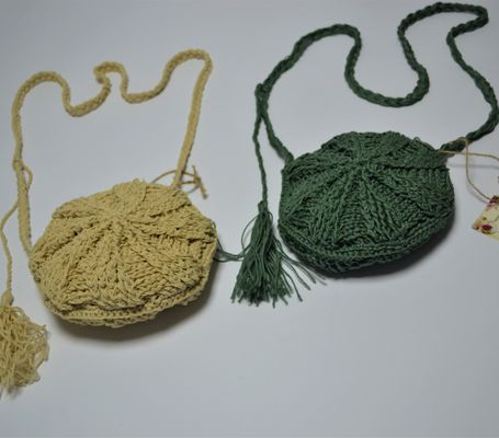 Round knitted bag 2