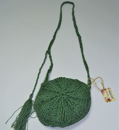 Round knitted bag 3